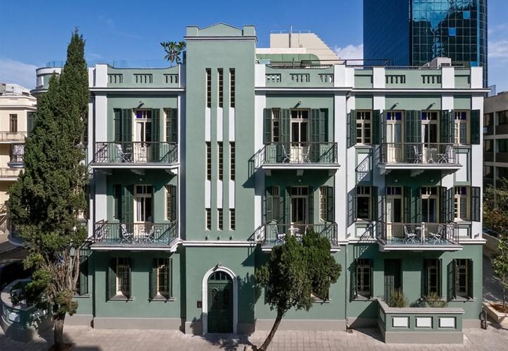 Alma hotel lounge by shaltiel kastiel tel aviv retail for Design hotel tel aviv