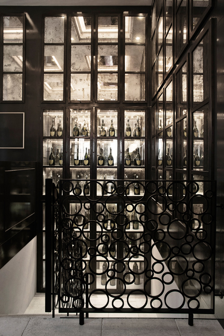 balthazar champagne bar by space copenhagen copenhagen. Black Bedroom Furniture Sets. Home Design Ideas
