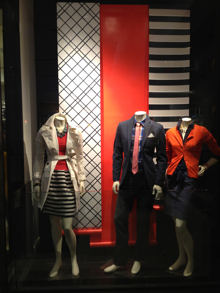Banana Republic windows 2013 January 02 Banana Republic windows 2013 January by Mark James