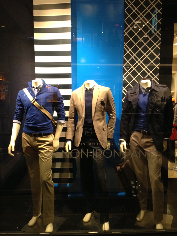 Banana Republic windows 2013 January 04 Banana Republic windows 2013 January by Mark James