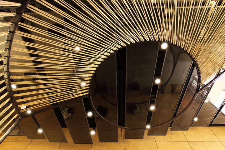 chalacol rama ix hair salon by nkdw studio bangkok. Black Bedroom Furniture Sets. Home Design Ideas
