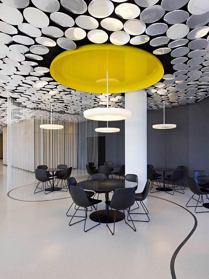 der spiegel s cafe canteen by ippolito fleitz group hamburg retail design blog. Black Bedroom Furniture Sets. Home Design Ideas