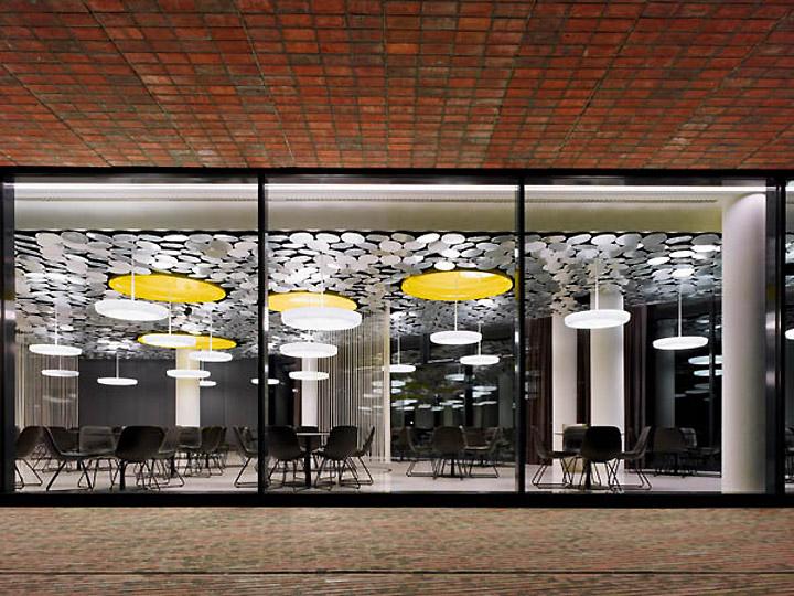 Der spiegel s cafe canteen by ippolito fleitz group hamburg for Der spiegel hamburg