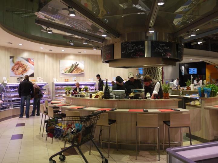 Edeka supermarket Dusseldorf 07 Edeka supermarket, Düsseldorf   Germany