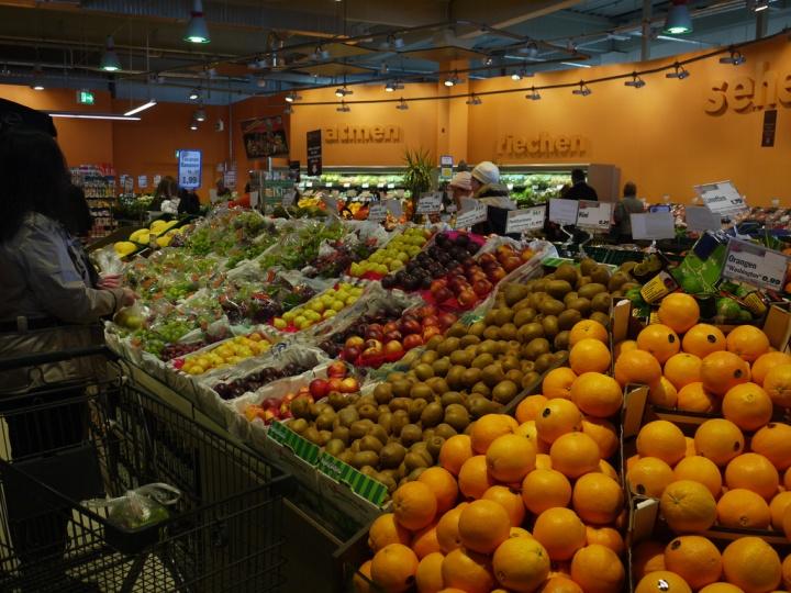 Edeka supermarket Dusseldorf 12 Edeka supermarket, Düsseldorf   Germany