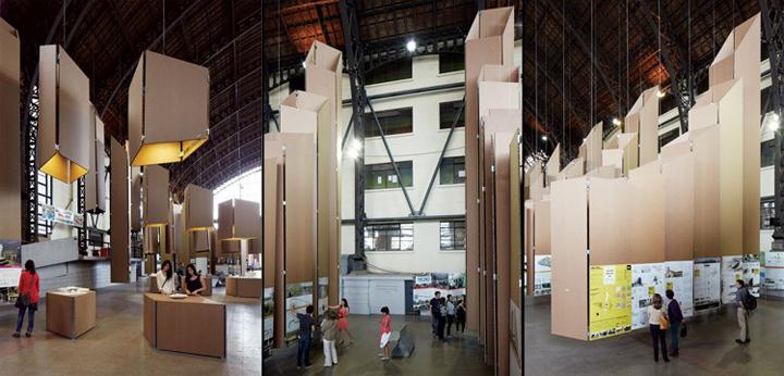 Art 4 logic exhibition design by lyon bosch estudio for Lyon hotel design