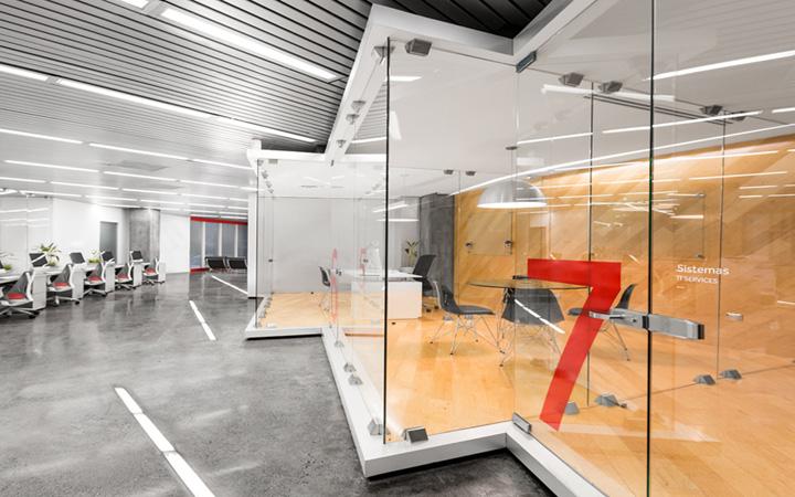 Grauforz office interior and branding by Anagrama Retail Design Blog