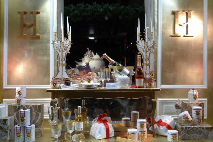 H diard christmas windows by stephanie moisan paris - Magasin deco noel paris ...