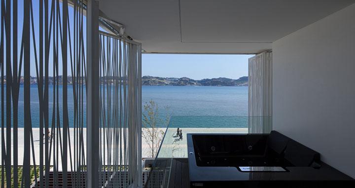 Hotel altis bel m by risco architects lisbon retail for Hotel design lisbona