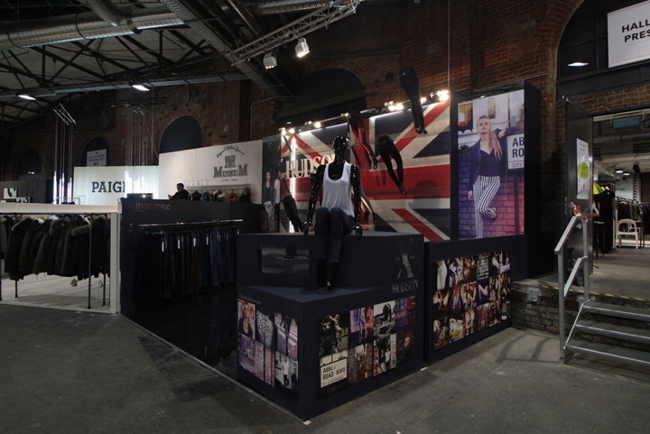 Exhibition Stand Design Europe : Hudson jeans exhibition stand by double europe at