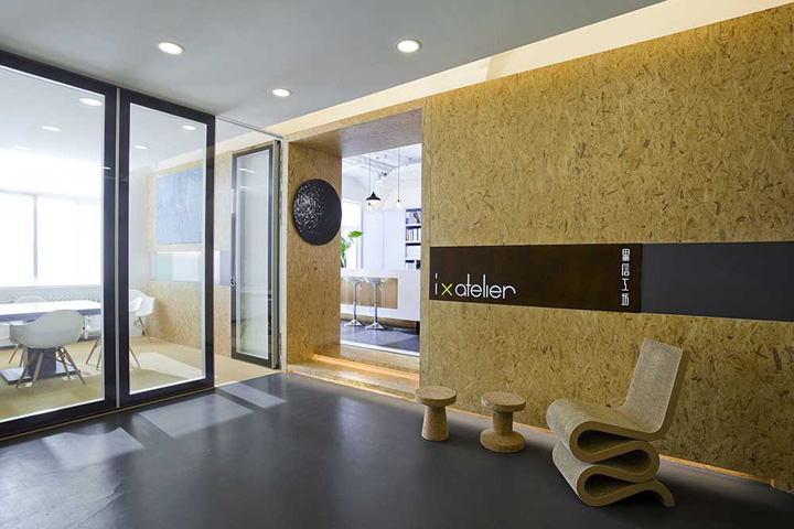 IX Ateliers office by InkMason and Xin project Beijing Retail