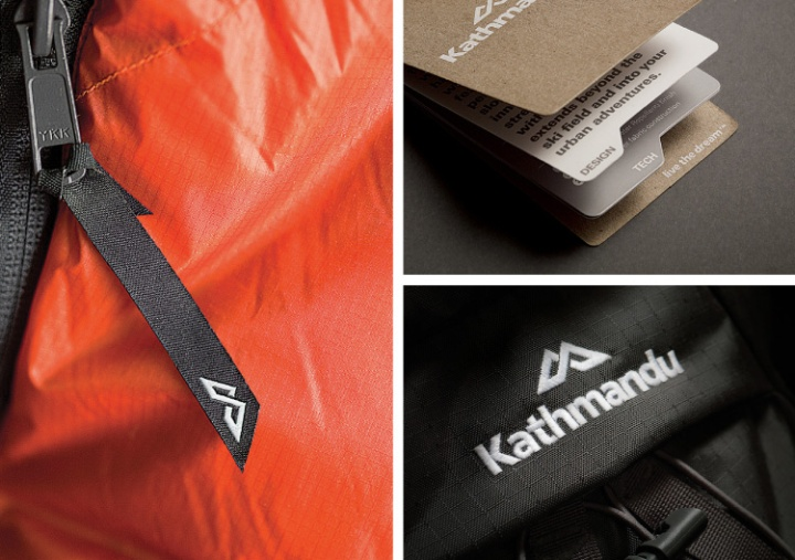 Kathmandu Brand Identity By Strategy Design Amp Advertising