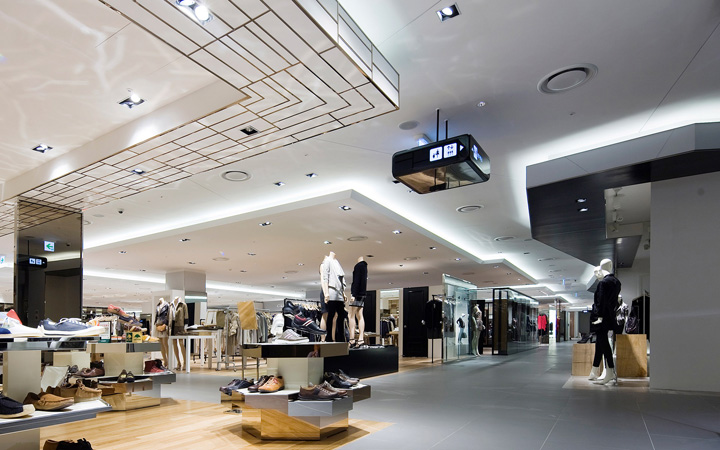 Hyundai department store at kintex mall in il san by hmkm for Interior design department