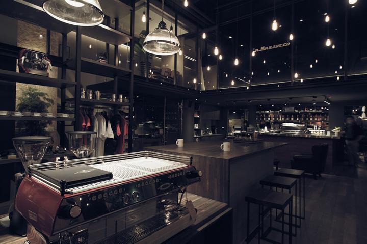 la marzocco flagship store by plan taipei retail design