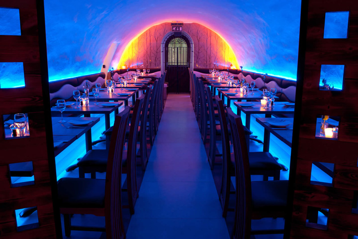 La Perla restaurant by InStyle LED Lighting, Bath – UK » Retail ...