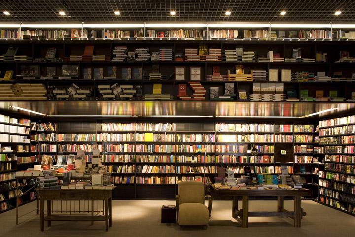 Livraria da Vila bookstore by Isay Weinfeld Sao Paulo 04 BOOKSTORES! Livraria da Vila bookstore by Isay Weinfeld, São Paulo