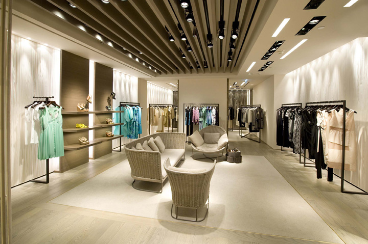 max mara flagship store by duccio grassi architects hong. Black Bedroom Furniture Sets. Home Design Ideas
