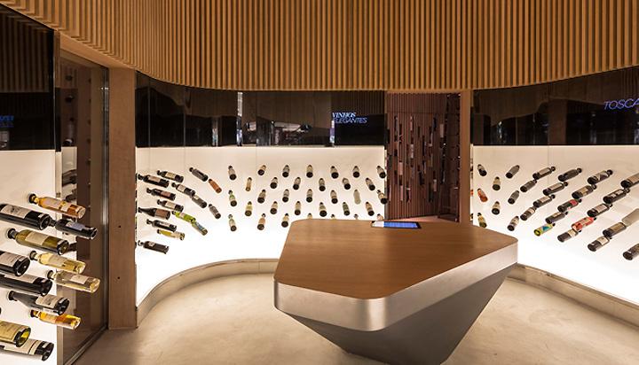 Mistral wine champagne bar Studio Arthur Casas Sao Paulo 03 Mistral wine and champagne bar by Studio Arthur Casas, São Paulo
