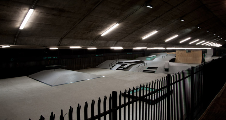 Nike At Baysixty6 Skate Park By Brinkworth London