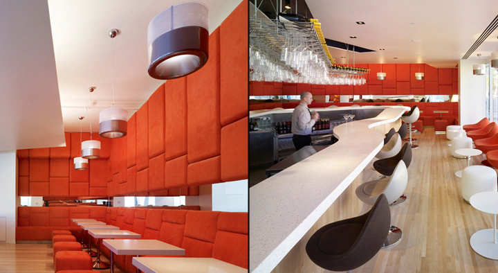 Paperfish restaurant by Clive Wilkinson Architects, Beverly Hills
