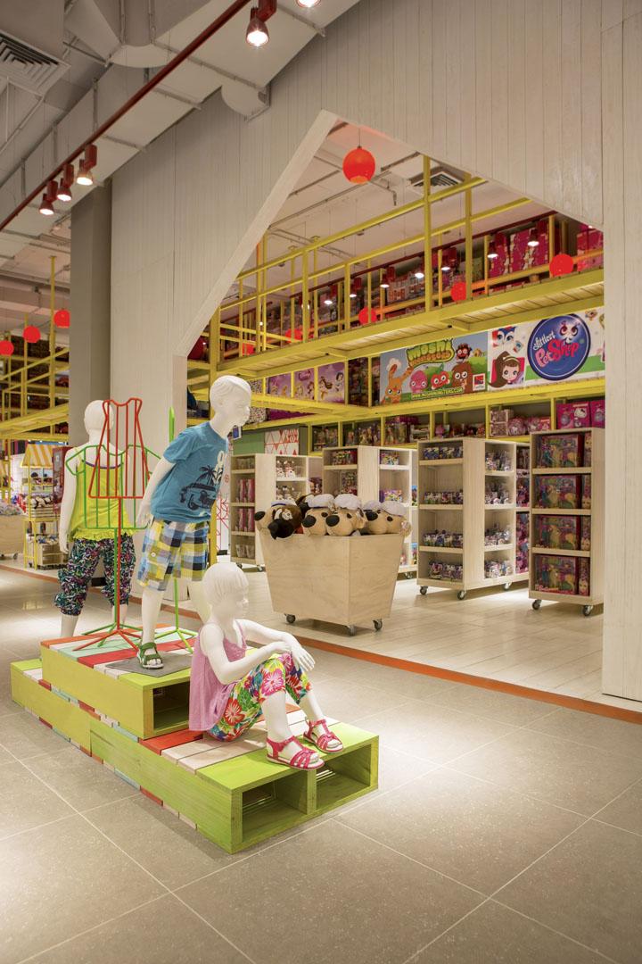 » Paris Kids department by Dalziel and Pow, Santiago – Chile