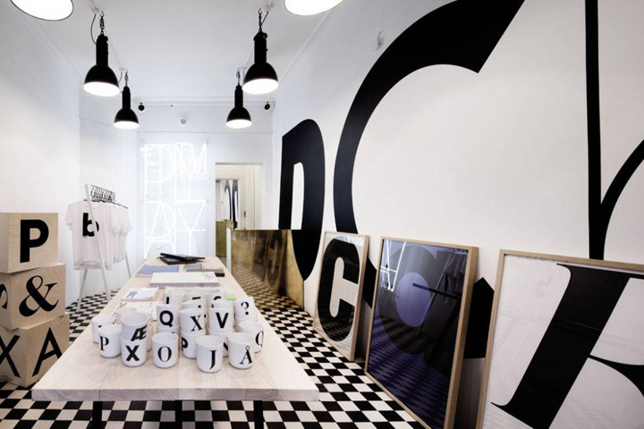 Playtype concept store by e Types Copenhagen Playtype™ concept store by e Types, Copenhagen