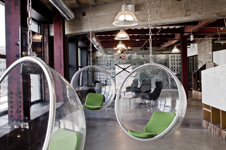 Quicken Loans offices, Detroit » Retail Design Blog