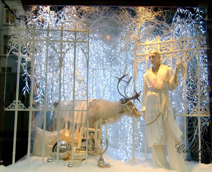 187 Ralph Lauren Christmas Windows London
