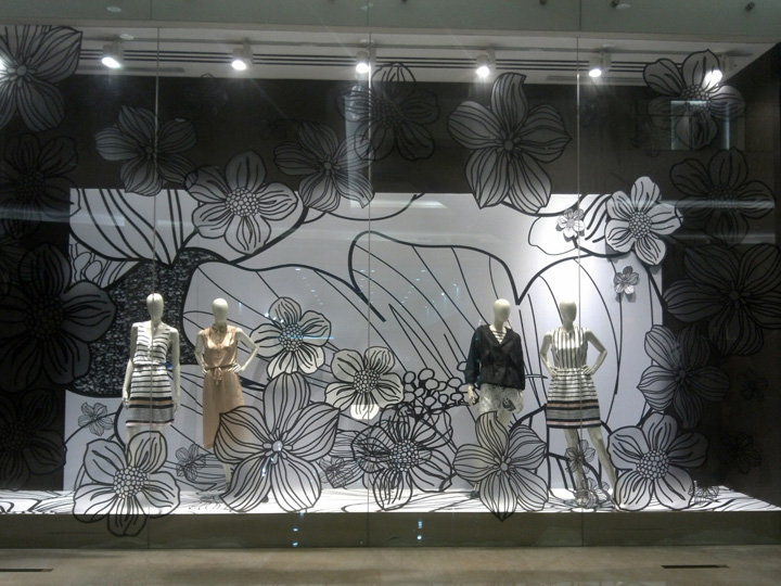Raoul flowers windows jakarta 187 retail design blog