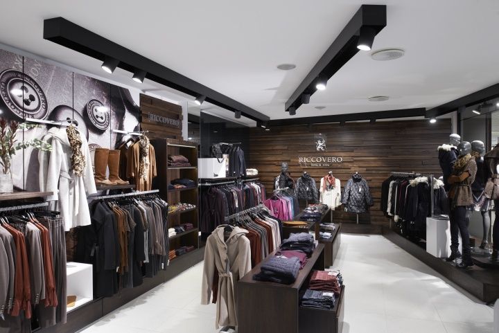Riccovero fashion store by scenario interior architects - Interior design for retail stores ...