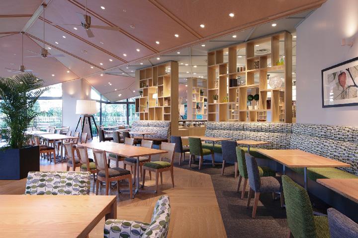 187 Serina Buffet Restaurant By Fan Design Label Narita Japan