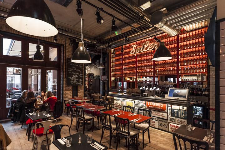 Spiler bistro pub budapest retail design blog for Interior designs for pubs