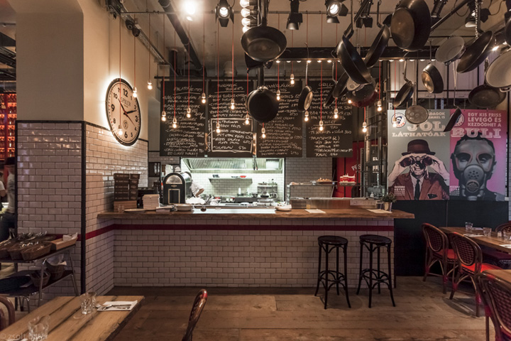 Spiler bistro pub, Budapest » Retail Design Blog