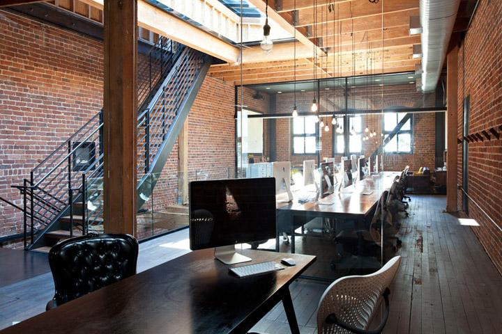 Synthetic offices by envelope a d san francisco retail design blog Interior design companies in san francisco