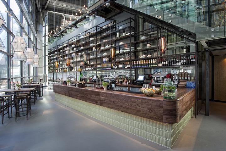 The drift restaurant by fusion london retail design