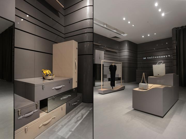 A S Design um collezioni multi brand store by as design macau retail design