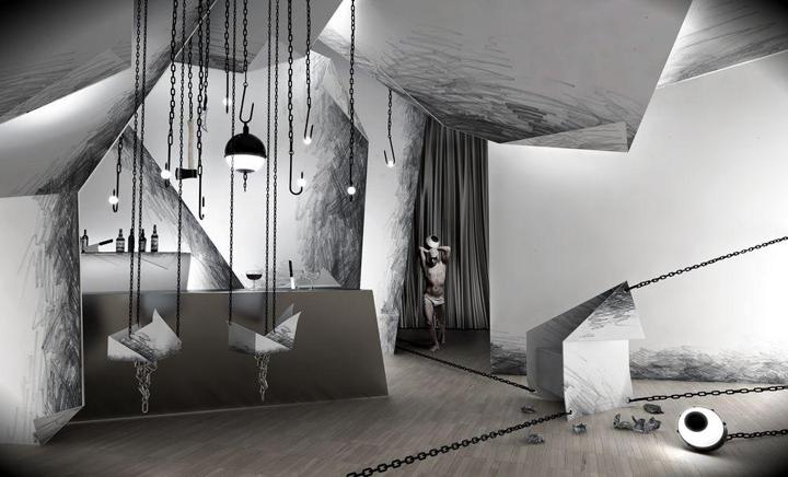 Ubojnia interior by wamhouse retail design blog for Crazy interior house designs