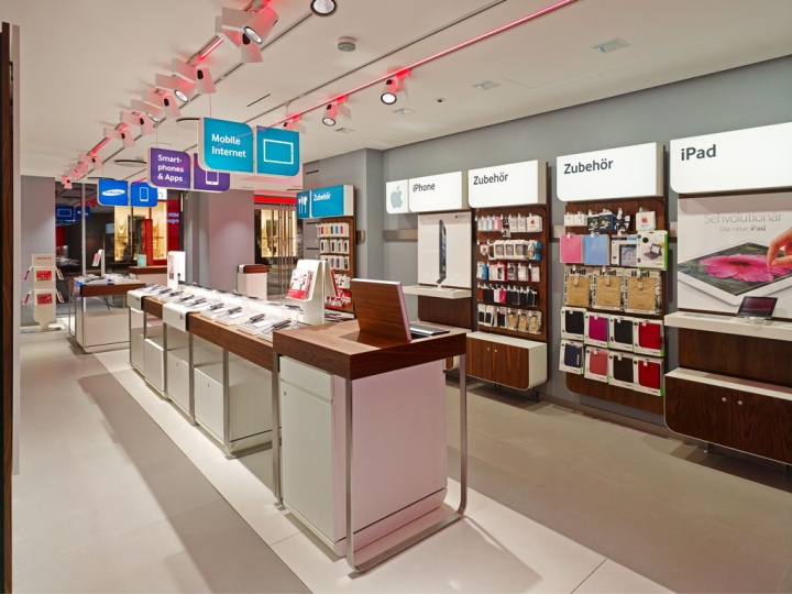 187 Vodafone Flagship Store By Kms Blackspace Cologne