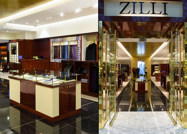 ZILLI Store By Streetsense Washington DC Retail Design Blog
