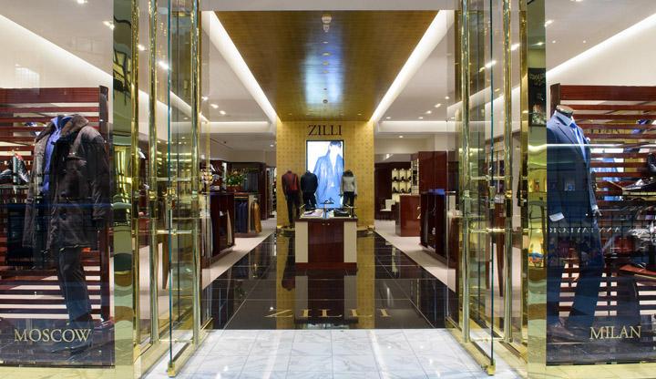 Zilli store by streetsense washington dc 187 retail design blog