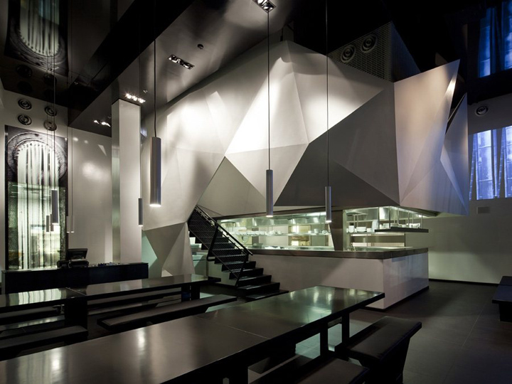 Zozobra Asian Noodle Bar By Bk Architects Kfar Sabba