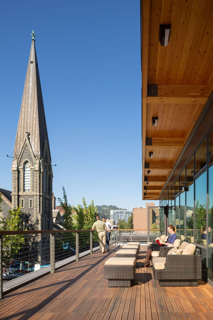 187 12th And Alder Office By Gbd Architects Portland Oregon