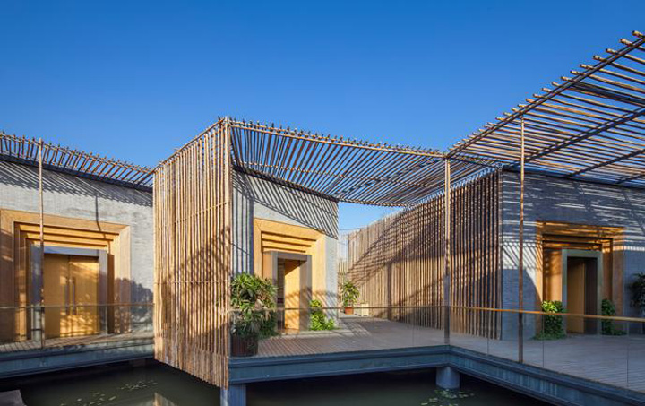 Yongzhou China  city photos : Bamboo courtyard by HWCD, Yangzhou – China » Retail Design Blog