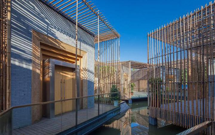 187 Bamboo Courtyard By Hwcd Yangzhou China