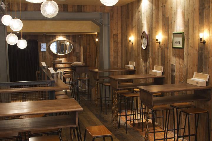 timber cladding  Retail Design Blog