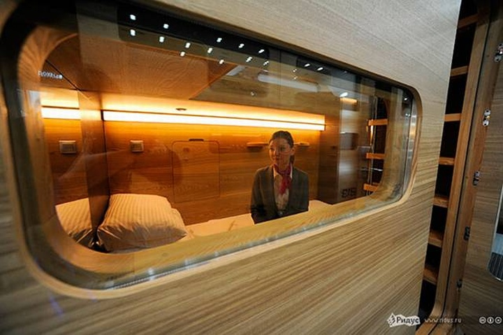 187 Capsule Hotel Moscow
