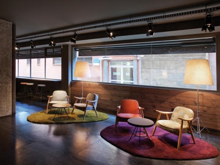 chic basic ramblas hotel by lagranja barcelona retail design blog. Black Bedroom Furniture Sets. Home Design Ideas