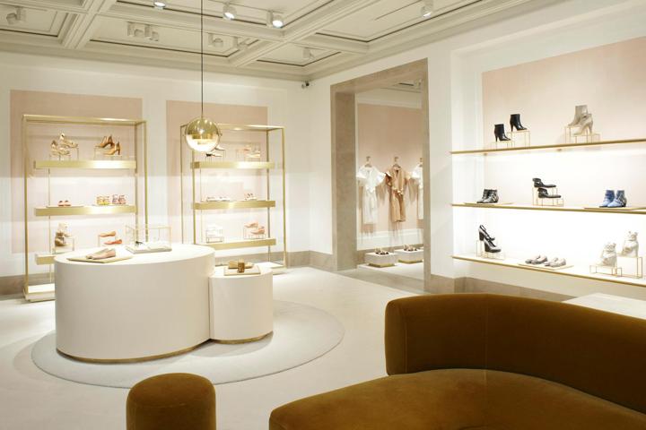 chlo boutique at saint honor paris retail design blog. Black Bedroom Furniture Sets. Home Design Ideas
