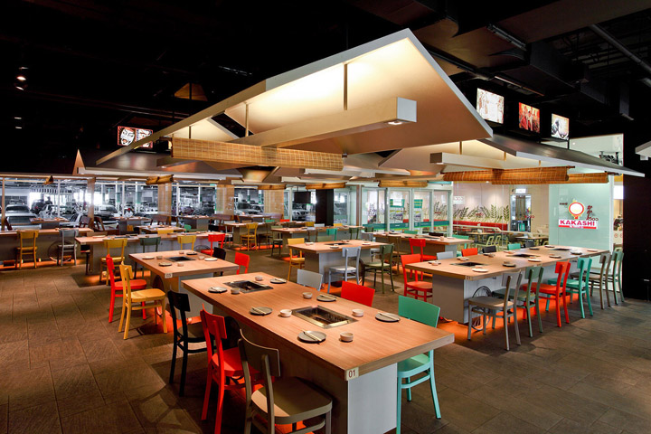 Coca grill restaurant by integrated field bangkok