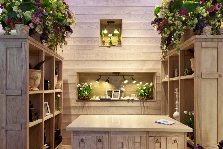 Flowers retail design blog for Flower shop design layouts